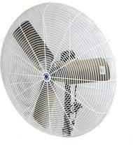 "Schaefer 30CFO 30"" Fixed-Mount Circulation High Airflow Fan, Industrial Made in USA, 2-Speed, 1/2 HP, 9420CFM, White"