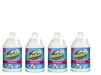 OdoBan Multipurpose Cleaner Concentrate, 4 Gal, Cotton Breeze Scent - Odor Eliminator, Disinfectant, Flood Fire Water Damage Restoration
