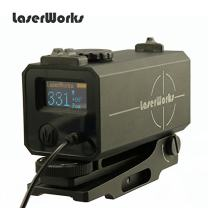 LaserWorks LE-032 Riflescope Mate rangefinder 700M Mini Tactical Outdoor Hunting Shooting Rangefinder Archery Crossbow Sight Target Scope
