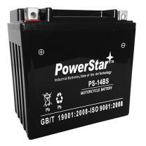 PowerStar 14-BS Battery for Vespa (Piaggio) 250cc MP3 250 (2008-2009)