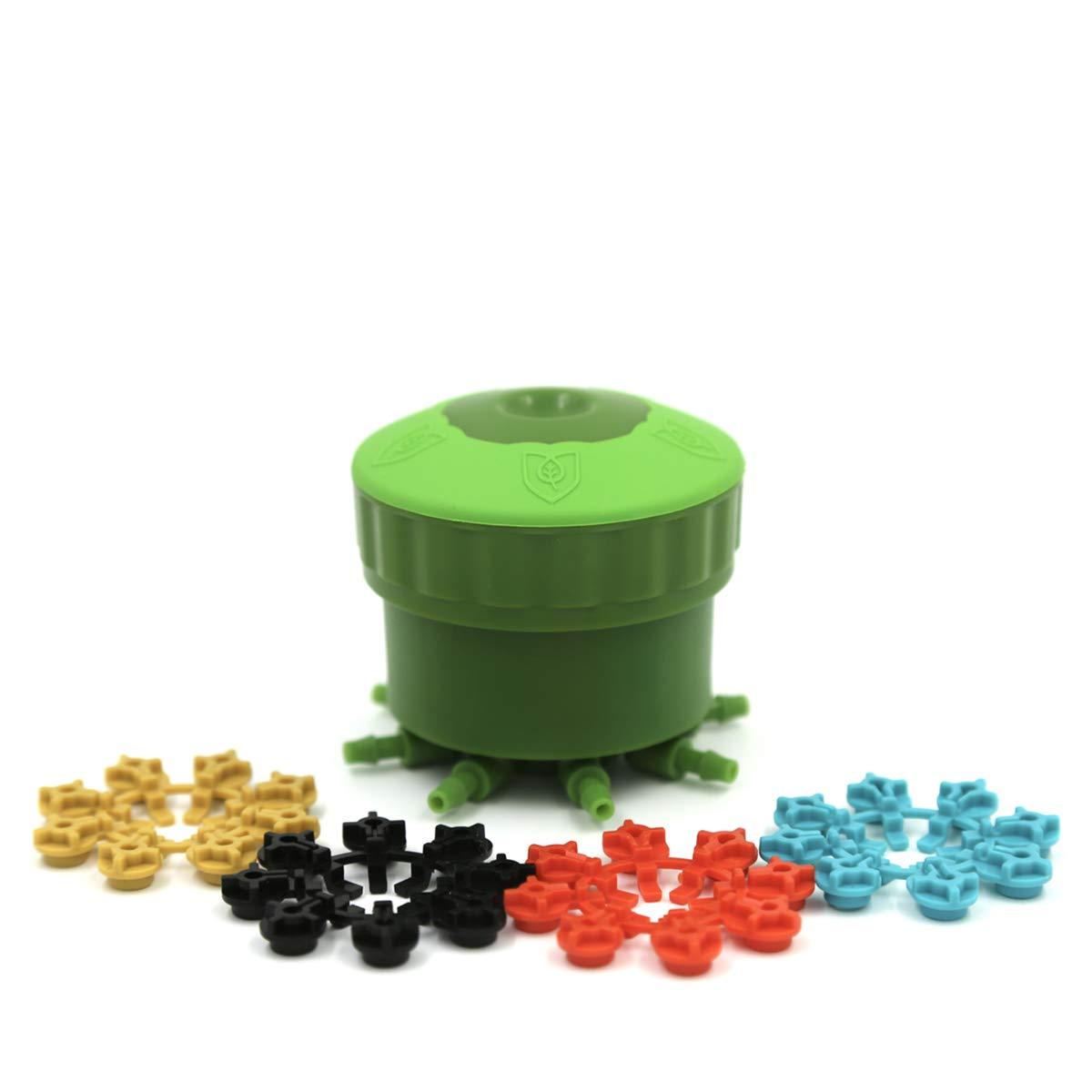 FloraFlex FFX159 Multi Flow Bubbler (1-Pack), Green