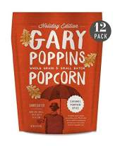 Gary Poppins Popcorn - Gourmet Handcrafted Flavored Popcorn -- Holiday Collection (Caramel Pumpkin Spice, 12 Pack)