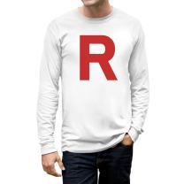 Halloween Men's - Rocket Inspired Long Sleeve T-Shirt
