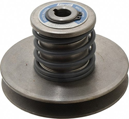 """Lovejoy 180 Aluminoline Variable Speed Pulley, 3/4"""" Bore, 54 inch-pounds Torque Capacity, 6.31"""" OD, 7.13"""" Overall Length"""