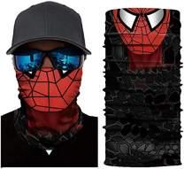 Spider Bandanas Neck Gaiters Balaclava Face Mask for Men Dust, Summer Fishing