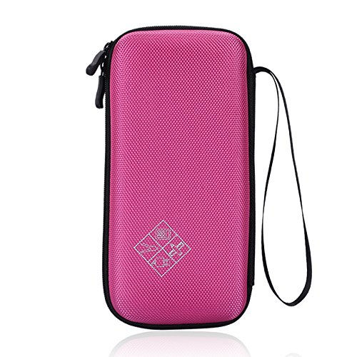 Esimen Carrying Case for Graphing Calculator Texas Instruments TI-84/Plus CE Hard EVA Shockproof Carrying Case Storage Travel Case Bag Protective Pouch Box -Extra Room for Pen and Accessory