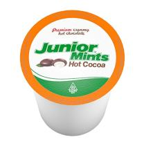 Junior Mint Chocolate Mint Single-Cup Hot Cocoa for Keurig K-Cup Brewers, 12 Count (Pack of 6)