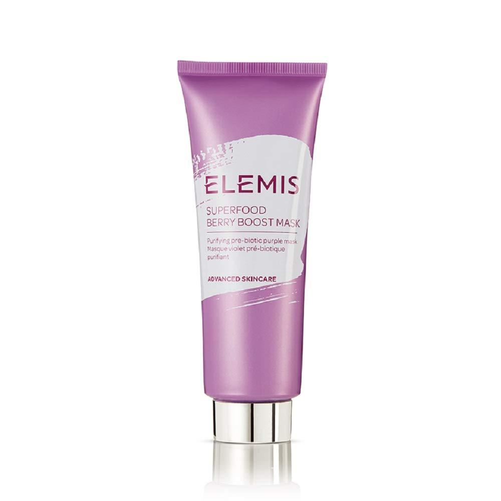 ELEMIS Superfood Berry Boost Mask;, Mattifying Prebiotic Face Mask, 2.5 Fl Oz