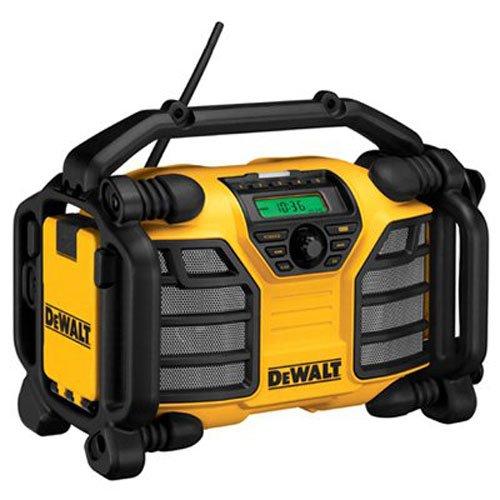 DEWALT 20V MAX/12V Jobsite Radio and Battery Charger – Radio Only (DCR015)