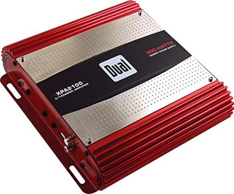 Dual Electronics XPA2100 High Performance Series MOSFET Class AB Two Channel Car Amplifier with 300 Watt Peak Power