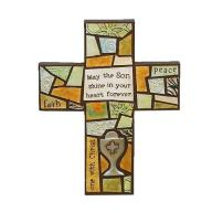Abbey Gift 1st Communion Mosaic Cross