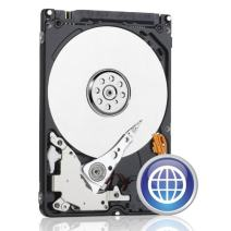 WD Blue 250GB  Mobile Hard Disk Drive - 5400 RPM SATA 3 Gb/s  2.5 Inch  - WD2500LPVT
