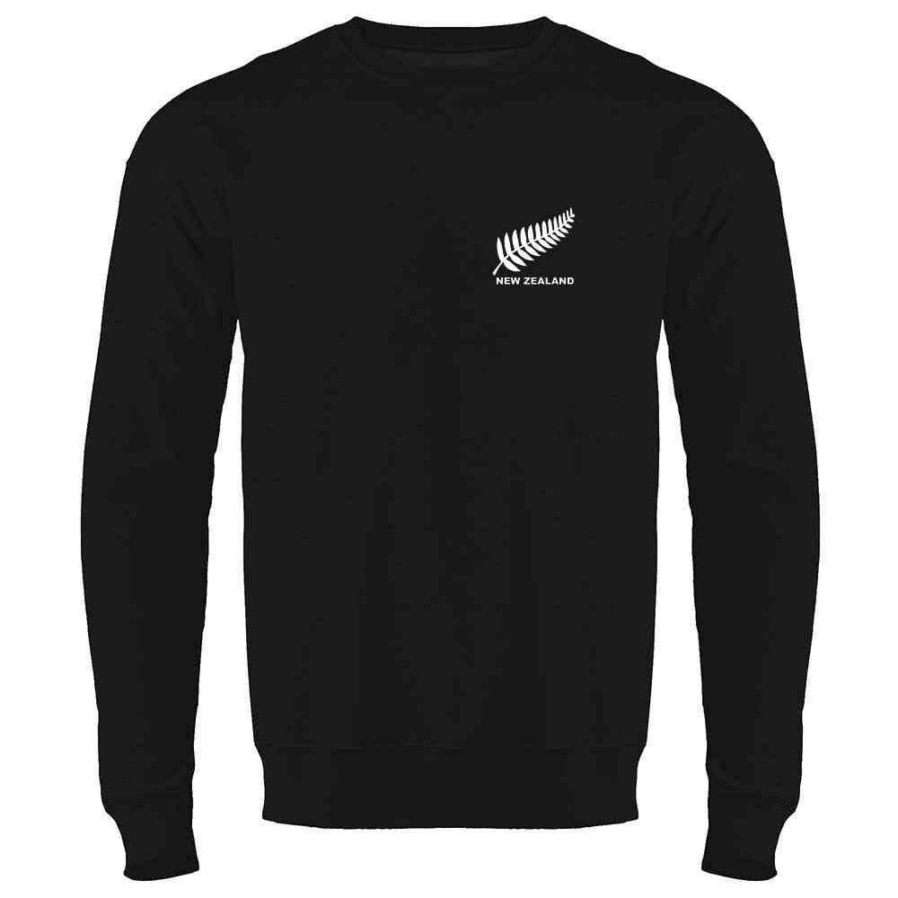 New Zealand Soccer Retro National Team Jersey Crewneck Sweatshirt for Men
