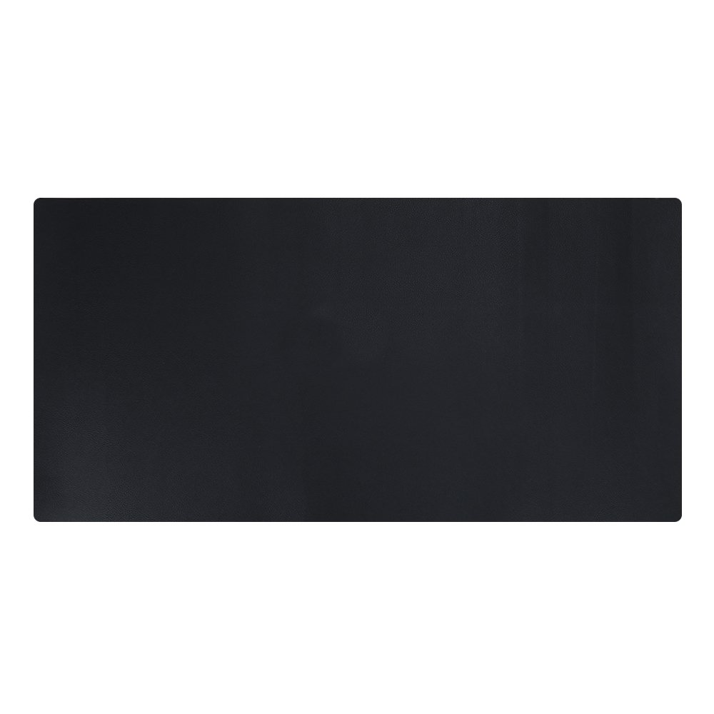 """KINGFOM Desk Mat Pad Blotter Protector 31.4"""" x 15.7"""", PU Leather Desk Mat Laptop Keyboard Mouse Pad with Comfortable Writing Surface Waterproof (Black)"""