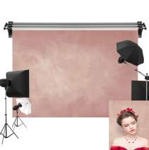 Kate 7x5ft/2.2m(W) x1.5m(H) Photo Backdrops Photographers Retro Solid Light Pink Background Photography Props Studio Digital Printed Backdrop