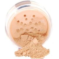 iQ Natural Mineral Foundation Loose Powder 10g Sifter Jar, Long Lasting All-Day Wear, Flawless Finish Makeup, Full Coverage – Matte | Sensitive Skin Approved | Color TAN