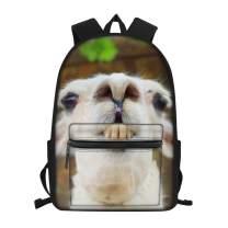 Funny Alpaca Backpack Fashion Novelty School Bookbags Casual Travel Daypack for Teen/Kids/Boys/Girls