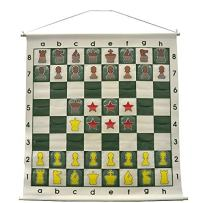 """36"""" Demonstration Chess Board - Forest Green"""