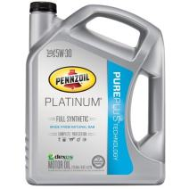 Pennzoil Platinum Full Synthetic Motor Oil 5W-30 – 5 Quart