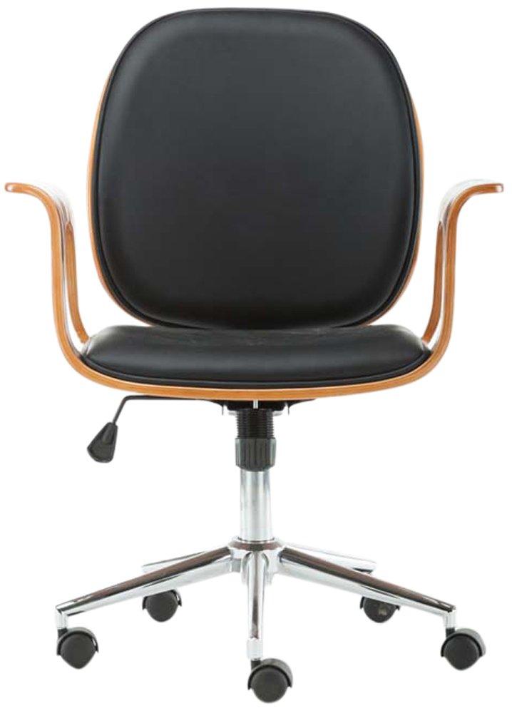 Boraam Happ Bentwood Desk Chair, Black