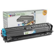 LD Remanufactured Toner Cartridge Replacement for HP 307A CE741A (Cyan)
