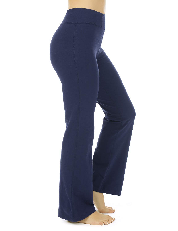 Women's Regular/Tall High Waisted Bootcut Yoga Pants Bootleg Workout Pants Inner Pocket