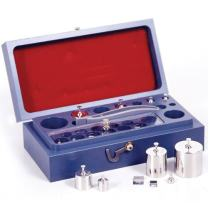 Rice Lake 16 Piece Stainless Steel Calibration Weight Set, ASTM Class 1, 50g - 10mg