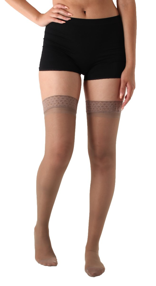 Absolute Support Women's Compression Socks   Knee High   15-20mmhg   XL/Taupe