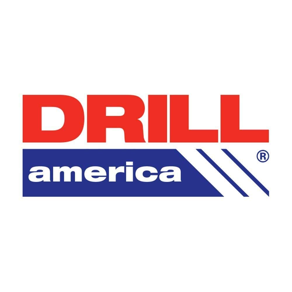"""Drill America 7/16"""" High Speed Steel Spiral Flute Hand Expansion Reamer, DWR Series"""