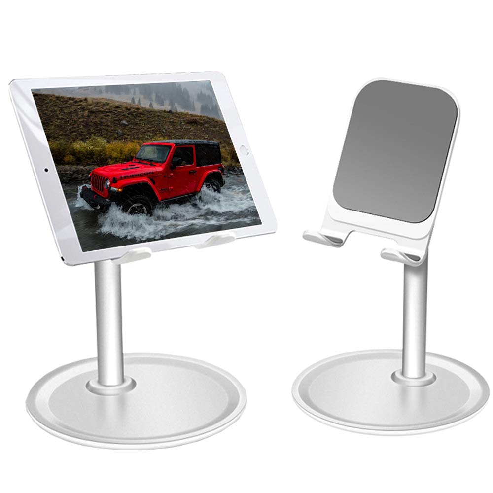 Desktop Tablet Stand,Phone Holder,Compatible with Tablets Such As iPad Air Mini Pro, Phone XS Max XR X 6 7 8 11,Kindle and Nintendo Switch