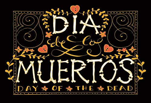 Baocicco Polyester 6x5ft Dia de Los Muertos Day of The Dead Photography Backdrop Background Mexican Festival Fiesta Party Supplies Banner Cake Table Decor Decoration Photo Booth Studio Props
