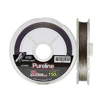 Hitena Super Cast Pureline - 12 Strand Braided. Ridiculously Thin. Absolutely Round. Ultra Abrasion Resistance. Absorbs Much Less Water. Super Casting Distance