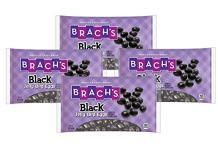 Brach's Black Jelly Bean Bird Eggs Candy, Licorice, 16 Ounce (Pack of 4)