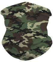 RAISEVERN Face Coverings Seamless Rave Bandana Balaclava Neck Gaiter For Men Women Headwear Outdoors Sports