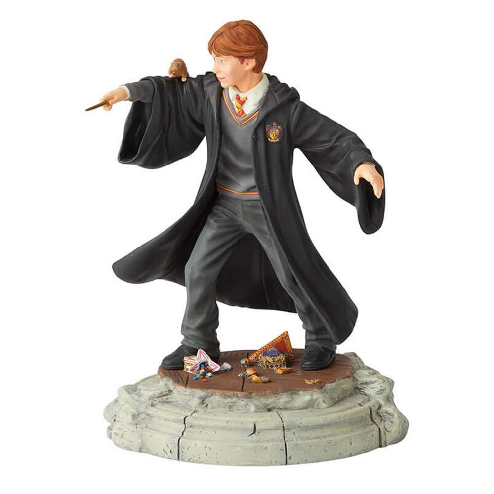 "Enesco Wizarding World of Harry Potter Ron Weasley Year One Figurine, 7.5"", Multicolor"