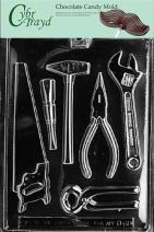 Cybrtrayd Life of the Party D066 Tools Assortment (1 Ea.) Chocolate Candy Mold in Sealed Protective Poly Bag Imprinted with Copyrighted Cybrtrayd Molding Instructions