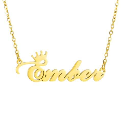 Romantic Academia Initial Letter Pendant Monogram L Necklace Alphabet Jewelry