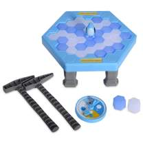 SS Save Penguin On Ice Game Penguin Trap Activate Funny Family Party Ice Breaking Kids Puzzle Table Knock Block Ice-Block Breaking Game