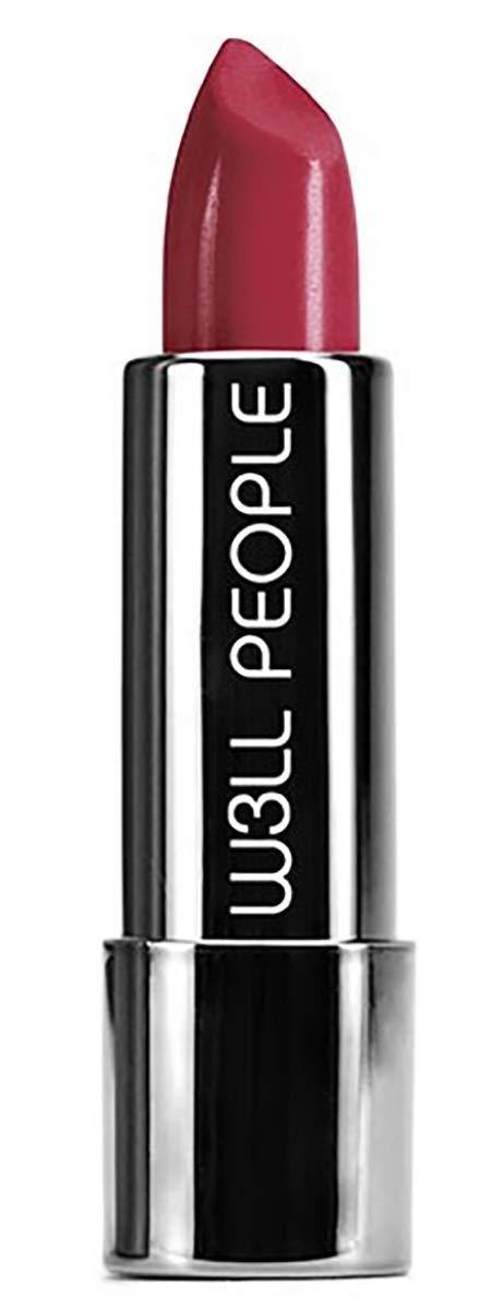 W3LL PEOPLE - Organic Optimist Semi-Matte Lipstick | Clean, Non-Toxic Makeup (Om Yeah)