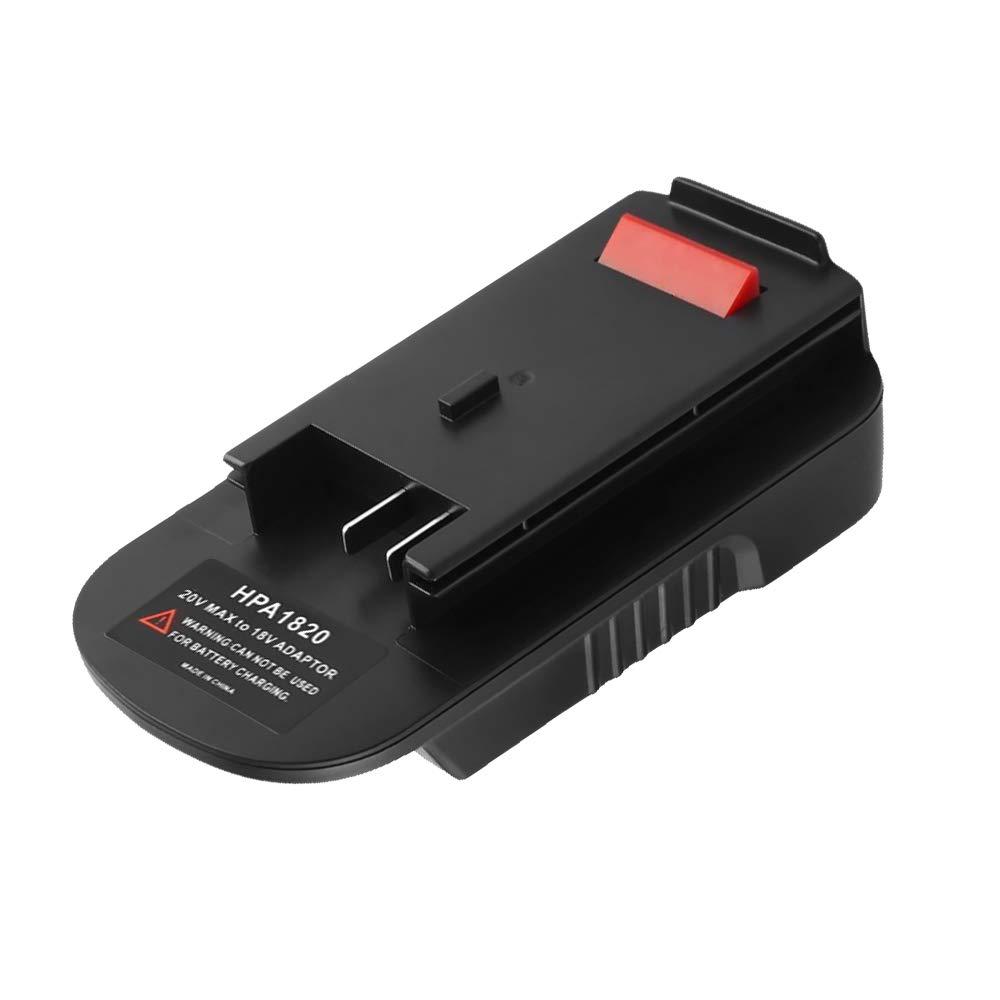 20V Battery Adapter for Black /& Decker HPA 1820 18V//20V Tool Convert Battery