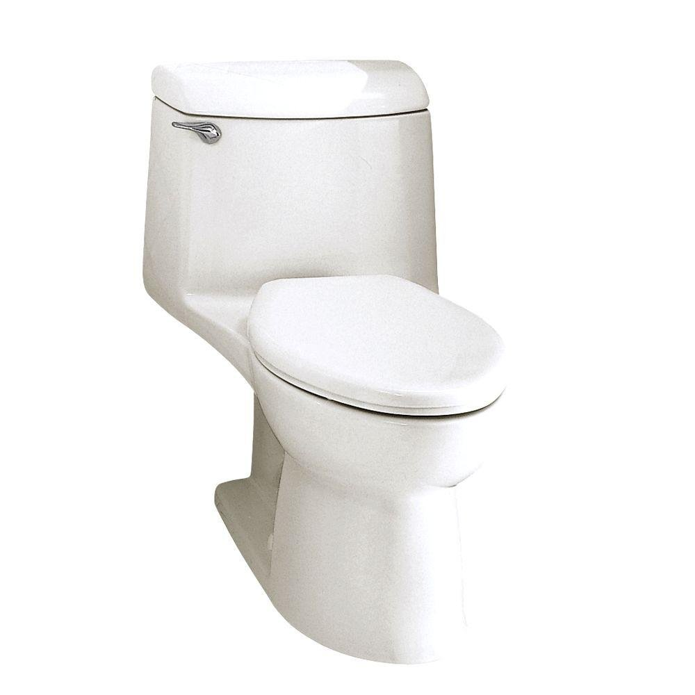 American Standard 2004.014.020 Champion-4 Elongated One-Piece Toilet, White