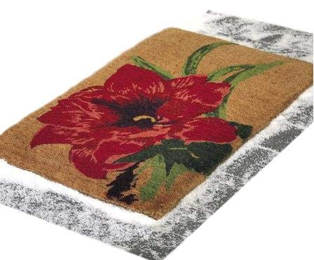 Amaryllis Slush Stopper Door Mat - Great for All Climates