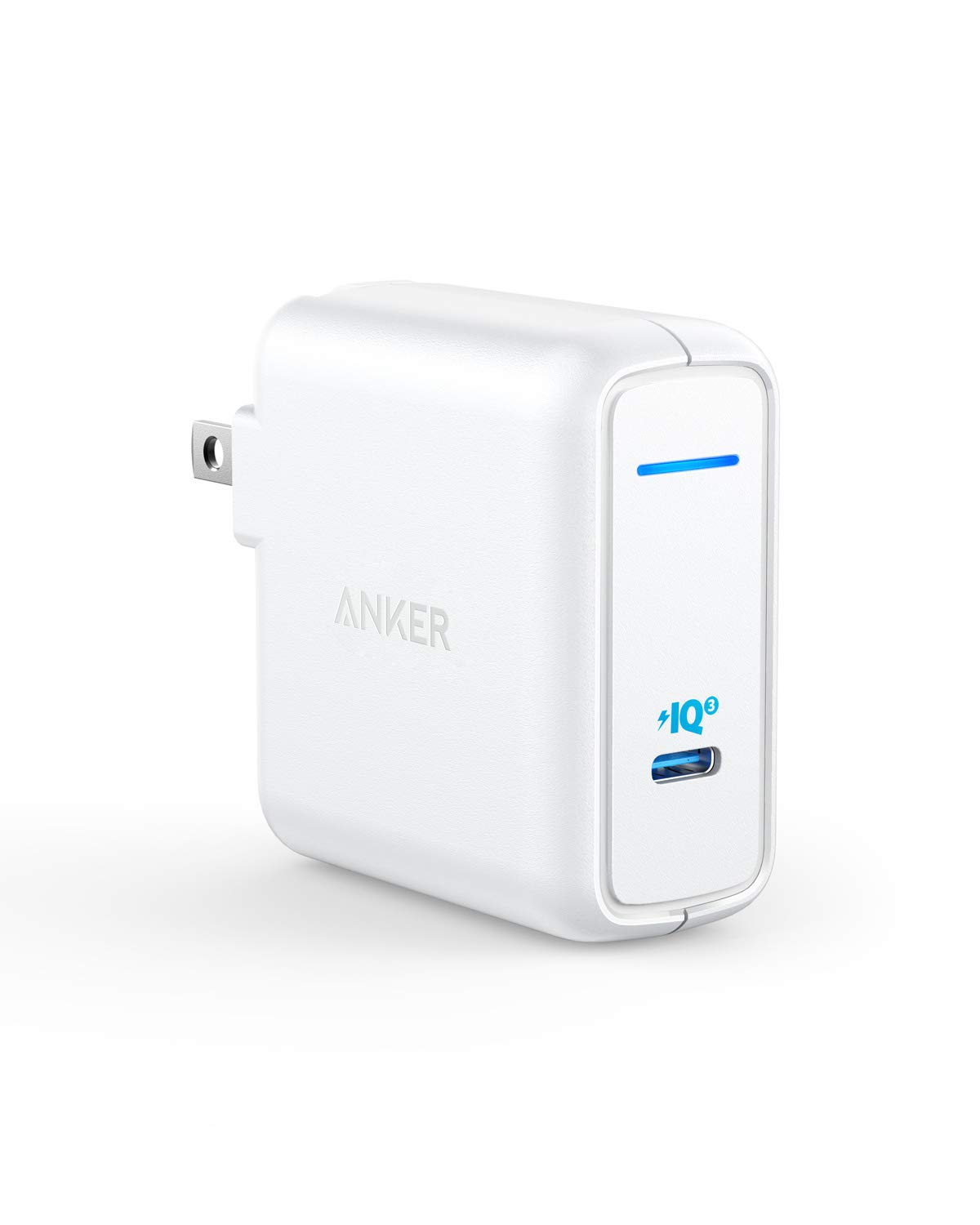 USB C Charger, Anker 60W Power Delivery Fast Charger [PIQ 3.0 & GaN], PowerPort Atom III Power Adapter for iPhone 11/Pro/Max/XR/XS/X, USB-C Laptops, MacBook Pro/Air, iPad Pro, Galaxy, Pixel and More