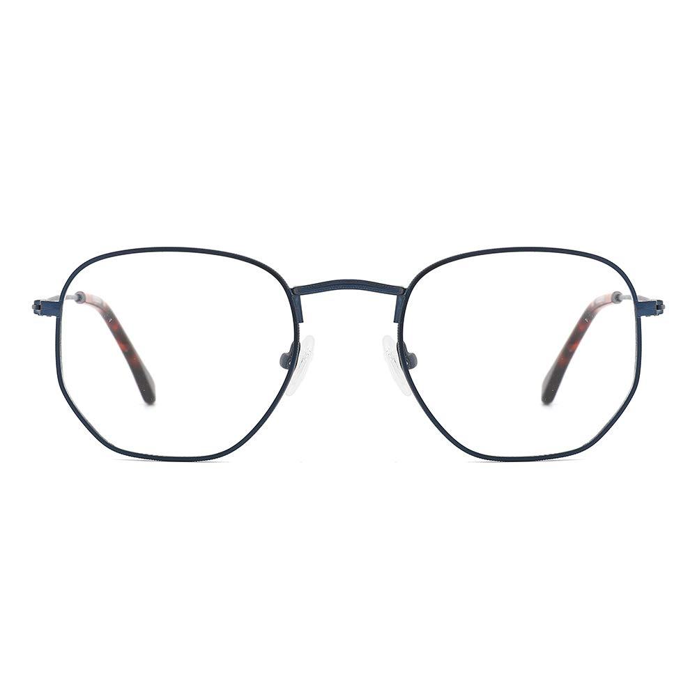 O-Q CLUB Blue Light Blocking Glasses UV Filter Computer Glasses Non Prescription Eyeglasses for Women Men(Blue/Tortoise)