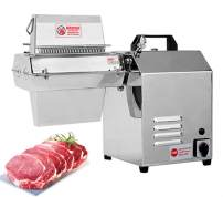 NEWTRY Commercial Electric Meat Tenderizer Machine for Max Width 5inch Meat Stainless Steel Heavy Duty Steak Flatten Kitchen Tool Beef, Turkey, Chicken, Veal, Pork, Fish (110V US Plug)