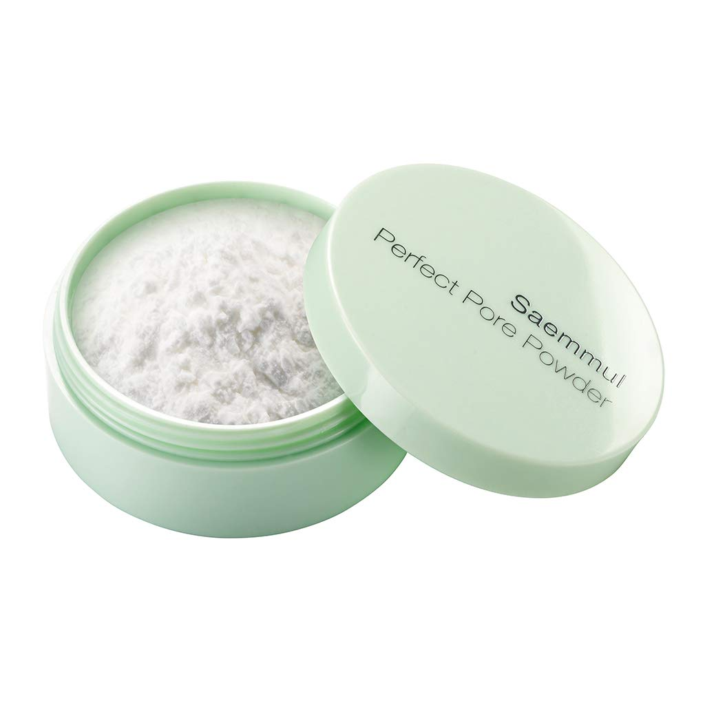 [the SAEM] Saemmul Perfect Pore Powder 5g - Oil & Sebum Control Long Lasting Silky Face, Skin Soothing & Purifying with Green Tea Water and Tea Tree Extract