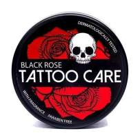 Tattoo Aftercare Ointment with Natural Ingredients, Black Rose - 1.23 Oz Moisturizing Cream, Tattoo Itching Lotion Promotes Healing, Protects, Highlights Tattoo Colors & Reduces Redness