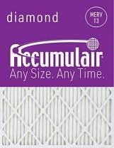 Accumulair Diamond 30x32x2 (Actual Size) MERV 13 Air Filter/Furnace Filters (2 Pack)