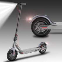 "Magicelec Electric Scooter for Adults: Folding Electric Scooter with 8.5"" Air Filled Tires Shock Absorbers, 15.5 ML Long-Range Battery, 14 MPH, 3 Seconds Folding"