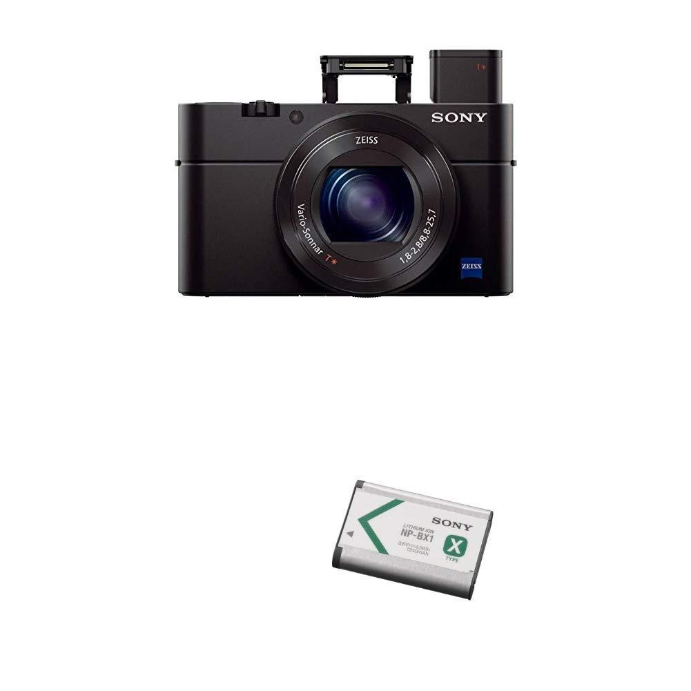 Sony Cyber-shot DSC-RX100 III Digital Still Camera with Lithium-Ion X Type Battery (Black)